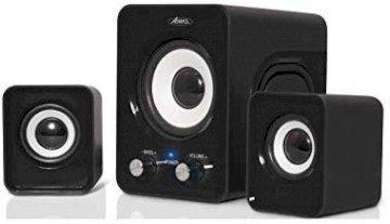 HAUTS PARLEURS 2.1 Stereo SoundPhonic 6 Watts RMS NOIR *Advance SP-U803BK*