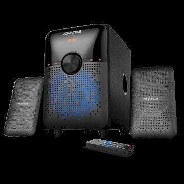 SoundPhonic 2.1 Light RVB Edition - 28W RMS  * Advance SP-3696 *